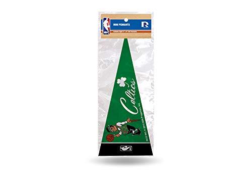 NBA Boston Celtics 8-Piece 4-Inch by 9-Inch Classic Mini Pennant Décor Set