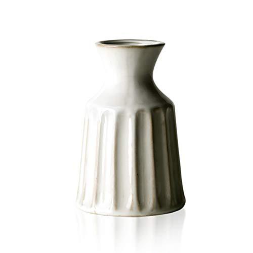 Jarrones de Ceramica Decoración Retra De La Joyería De La Sala De Estar del Hogar Japonés del Florero del Japonés-Estilo, 11.5X16.5cm Jarrones Decorativos