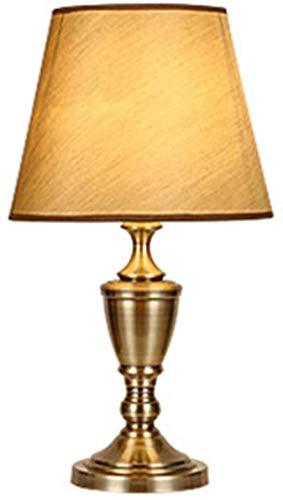 LIUYULONG Lámpara Decorativa Sala de Estar Lámpara de Escritorio de Metal Dormitorio Junto al Lado de la Cama de la Mesa de la Mesa de Comedor 31 * 56cm Luz de Noche
