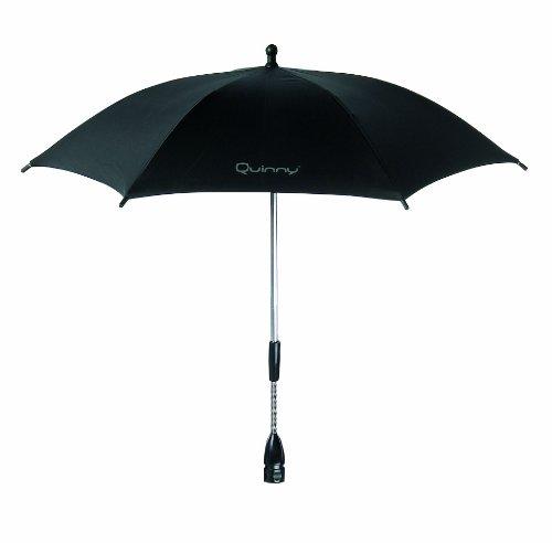 Quinny 72402540 - Sombrilla con protección UV para sillas de paseo Buzz, Speedi, Senzz, Zapp Xtra y Zapp, color negro