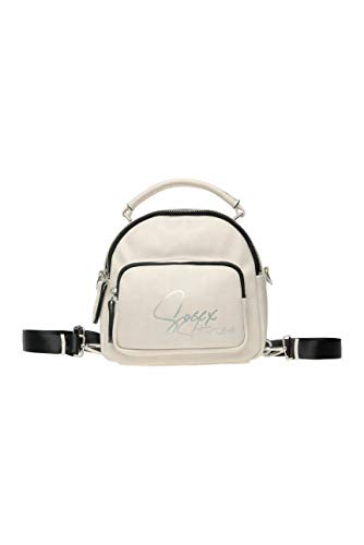 SOCCX Damen Hybrid Bag aus Kunstleder