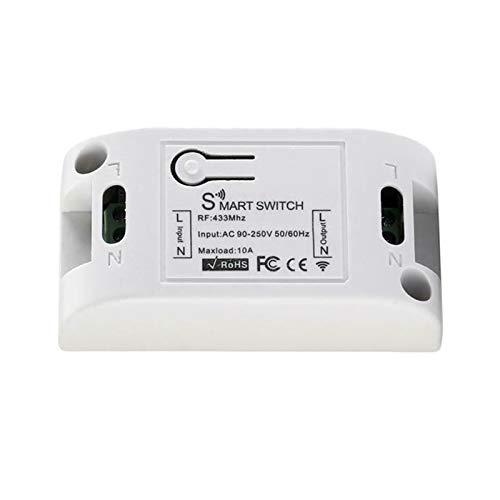 #N/a El Control Remoto Del Interruptor Del Módulo Del Interruptor de La Luz de WiFi Funciona con Alexa