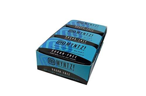 Dentist Recommended MYNTZ! Brand Mints - Wintermynt Blast Wintergreen Flavor 6 tins x 1.75 ounces per tin