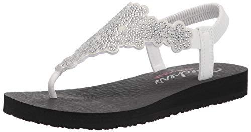 Skechers Womens Meditation Floral Lover Summer Shoes
