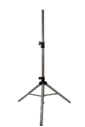 Opticum Dreibein Sat-Stativ Premium Stahl (Camping Sat Stativ ausziehbar 150cm, bis 80cm Antennendurchmesser, 3x Heringe, einfache Installation)