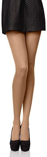 Antie Medias Panty en Microfibra Lencería Sexy Mujer 40 DEN (Neutro, M (Talla Fabricante: 3))