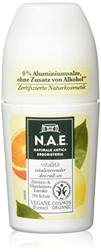 N.A.E. Naturale Antica Erboristeria vitalità vitalisierender Deo Roll-on, 1er Pack (1 x 50 ml)