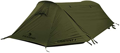 Ferrino Lightent 1 Lite Tenda, Oliva, 1 Posto