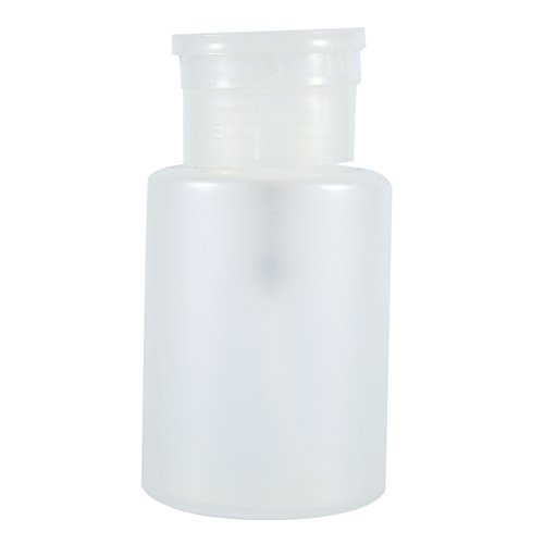 150 ML Reutilizable Bomba de Plástico Dispensador Botella Vacía Removedor de Esmalte de Uñas Transparente Dispensadores de la Bomba para Labio Eliminador de Maquillaje de Acetona Herramienta de Arte d