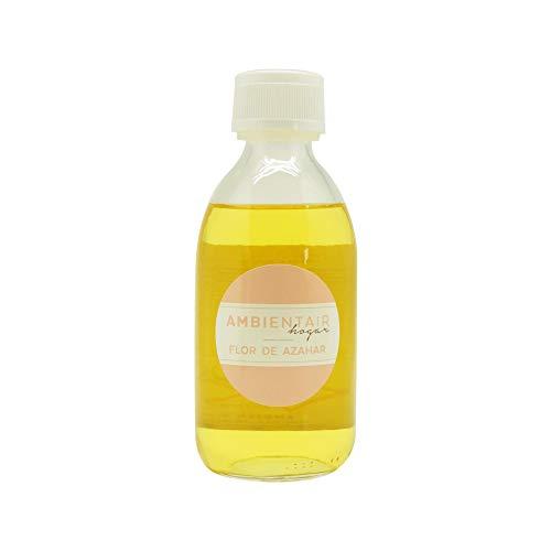 Ambientair RC250AZAA Recambio Mikado, Fragancia Azahar, Cristal, Dorado, 250 ml