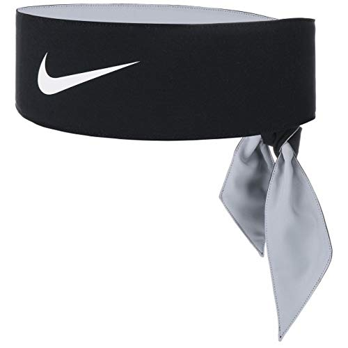Nike Unisex-Erwachsene Tennis Headband, Black/White, One Size