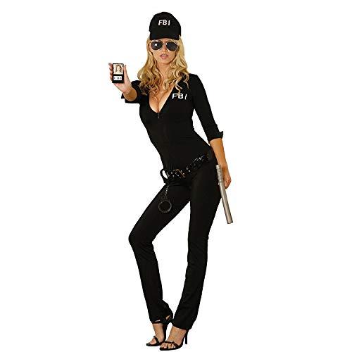 Damen-Kostüm FBI-Kostüm Agentin Polizistin Polizei-Verkleidung Flirt Anzug FBI Uniform Fasching Karneval Party Outfit