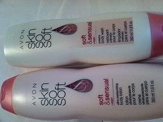 Avon Skin so Soft Creamy Body Wash Soft & Sensual 11.8oz. Aryan Oil