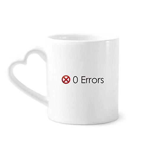 DIYthinker Programmer Programma Interface Geen Fouten Koffie Mokken Aardewerk Keramische Beker Met Hart Handvat 12oz Gift