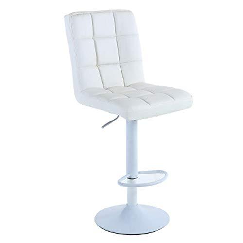 Moderne eenvoudige draaistoel, liftstang, verstelbaar, ijzermaat, met comfortabele rugleuning, kassa kruk, make-upstoel, cosmeticastoel, barstoelen