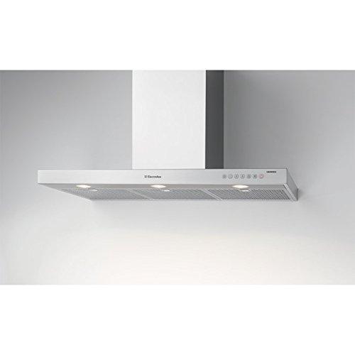 Electrolux: Wandhaube, Design, 90cm, Abluft, Chrom, WHGL9060CN