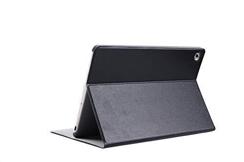 Lobwerk Funda para Huawei MediaPad M510.8Pulgadas Funda Tablet Smart Cover Slim con función Atril y lápiz Capacitivo Negro Negro
