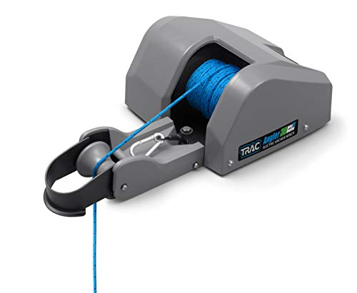 Trac Outdoors Angler 30 AutoDeploy-G3 Electric Anchor Winch - Anchors Up to 30 lb. - Includes 100-feet of Pre-Wound Anchor Rope with Use (69004)