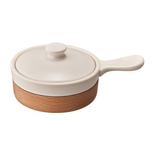 ドウシシャ エッグベーカー 電子レンジ オーブン対応 レシピ付き ホワイト LivE