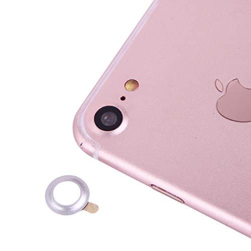 XUAILI Webcam afdekking achtercamera lens beschermer met naald, voor iPhone 7, zilver