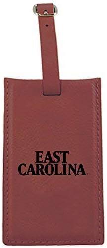 LXG Inc. Limited price sale East Carolina Luggage Tag-Burgu University-Leatherette Japan Maker New
