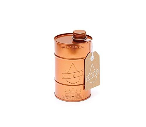 Ölspender – Spender für Olivenöl im Tonnenformat – 400 ml – kupferfarben – Ölkännchen