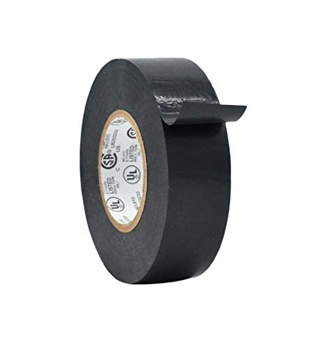 WOD ETC766 Professional Grade General Purpose Black Electrical Tape...
