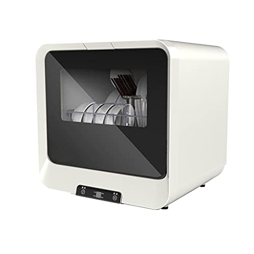 XINBAO Lavavajillas, Diseño Compacto Y Pequeño, Energía, 4 Programas, Consumo, Panel Táctil, Acero Inoxidable, Modo Ecológico, 45 Cm, Blanco