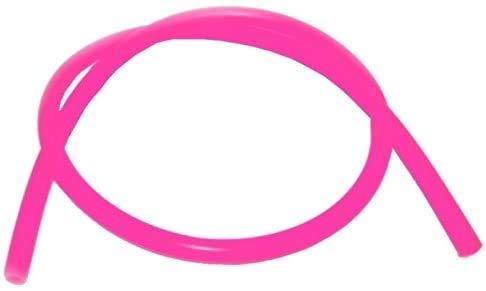 Tubo universale in silicone per narghilè e hookah 150 cm rosa fucsia