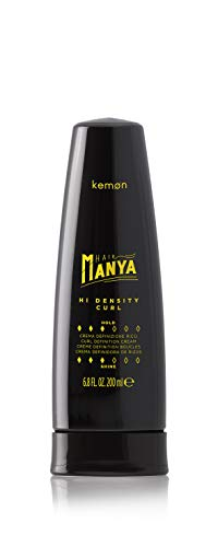 Kemon Hair Manya Hi Density Curl - Locken definierende Haar-Creme für mehr Volumen, Anti-Frizz-Paste in Salon-Qualität - 200 ml