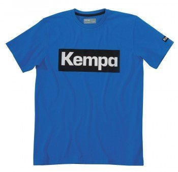 FanSport24 Kempa Promo T-Shirt, Kinder, blau Größe 164