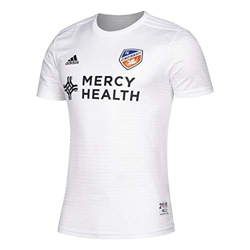adidas FC Cincinnati Réplica Jersey 2019 Away Kit para hombre, XL, Color del equipo