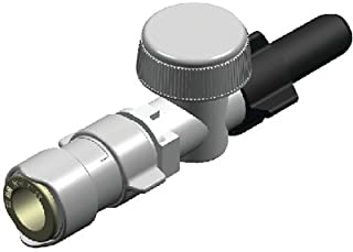 Whale Quick Connect 15mm Plumbing System, stem shut-off valve - 15mm
