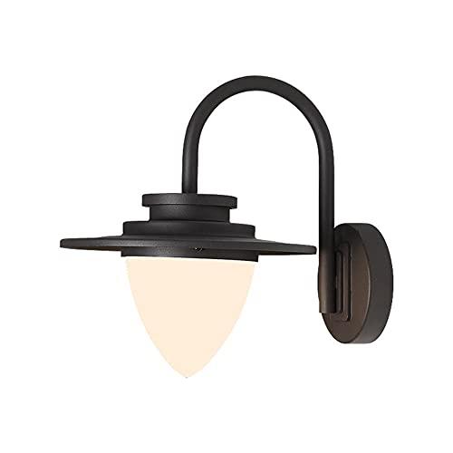 Luz de la pared europea Lámpara de linterna de la linterna al aire libre Barn Casa de campo Decoración de la pared Montaje de pared Cuello de ganso Pórchico Luz impermeable Aparato industrial Iluminac