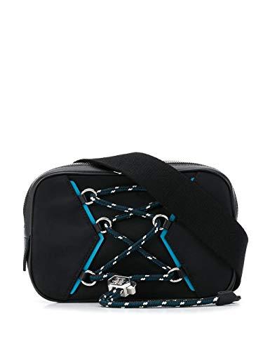 Luxury Fashion | Givenchy Heren BKU00BK0VQ449 Zwart Leer Heuptas | Lente-zomer 20