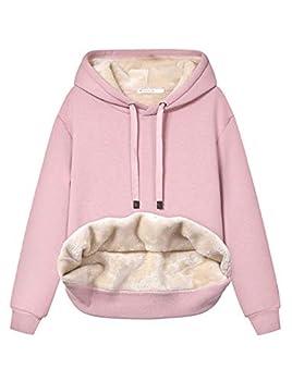 fleece lined hoodie women