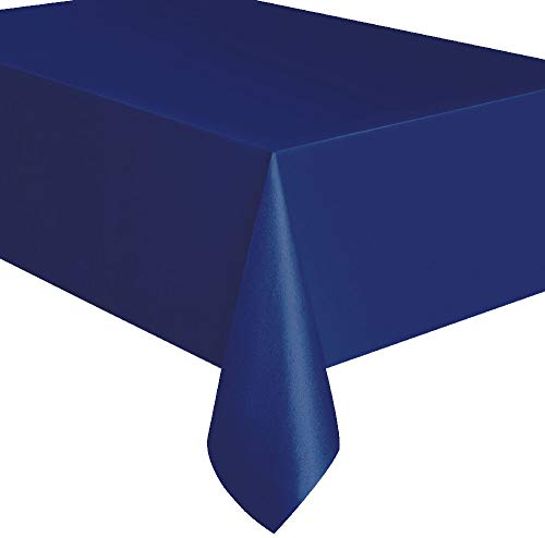 Plastic Disposable Party Tablecloth (Navy Blue)