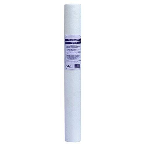 Zhouzl Hogar & Jardín 20 Pulgadas de Filtro de algodón PP del hogar purificador de Agua Filtro, Estilo: La acupuntura PP5 Micron Hogar & Jardín