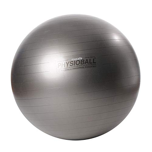 Original PEZZI Physioball MAXAFE 105 cm GRAU Gymnastikball Fitness Training Ball