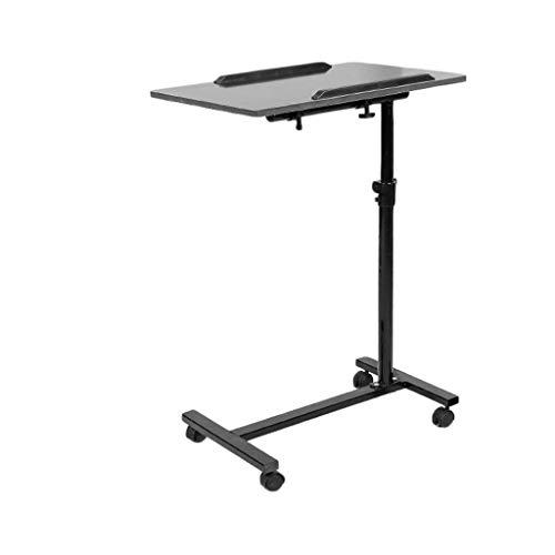 Escritorio de pie móvil/altura ajustable Estación de trabajo para ordenador | Rolling desk