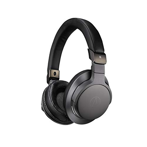 AudioTechnica SR6BT Wireless On-Ear Headphones (ATH-SR6BTBK) Black - (Renewed)