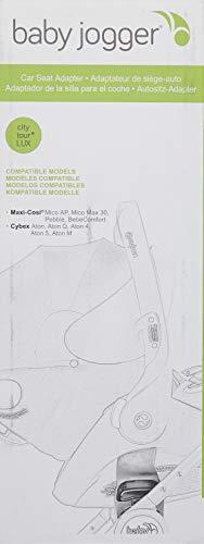 Baby Jogger City Tour LUX Autositzadapter– für die Babyschalen von Maxi-Cosi/Cybex