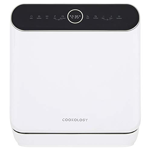 Cookology CMDW3WH Mini Plus Table Top Dishwasher, 3 Places in White