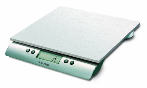 Salter Stainless Steel Aquatronic 22-Pound Scale
