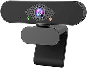 VERORAS Webcam 1080P Fixed Focus Streaming Computer Camera for Video Calling, Recording, Conferencing, Gaming, USB Camera for PC Laptop Desktop (Black)
