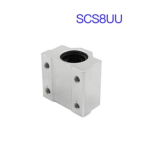 BlackUdragon SCS6UU SCS8UU SCS10UU SCS12UU - Router de rodamientos de Bolas lineales CNC para impresoras 3D CNC