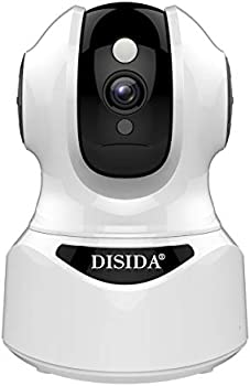 Disida 2M Surveillance WiFi Wireless Indoor Alexa Smart Camera
