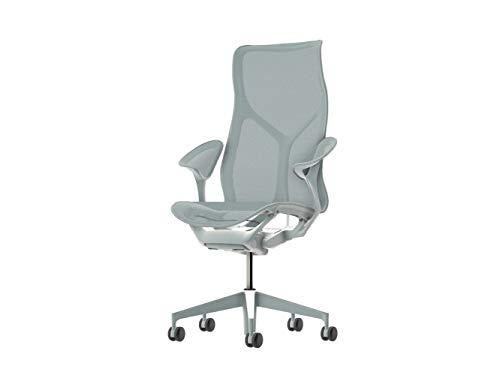Herman Miller Cosm Chair con Brazos de Piel