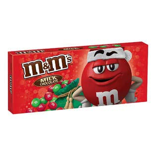 M&M's Holiday Milk Chocolate Theater Size 3.1 Oz. (1 Pack)
