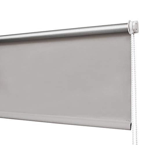 HOMEDEMO Verdunkelungsrollo Klemmfix (Grau, 45x150)
